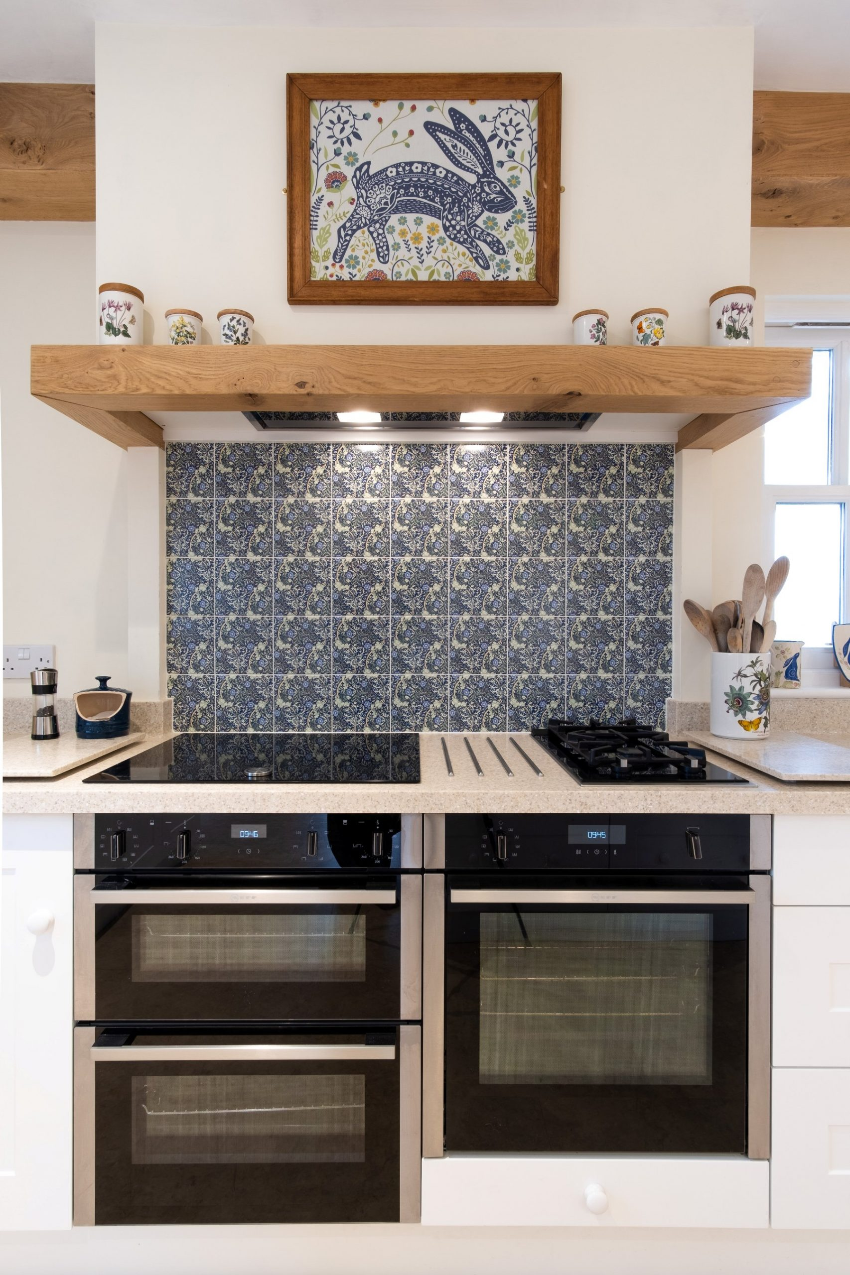 Country Kitchen with Corian Worktops